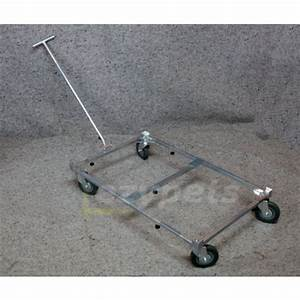 size adjustable transport trolley for collapsible pet crate With adjustable dog crate