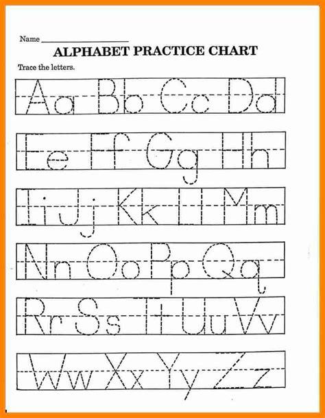6 pre k alphabet worksheets ars eloquentiae