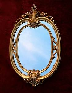 Spiegel Antik Oval : wandspiegel oval gold barock badspiegel antik ovaler spiegel 60x39 mirror c462 ebay ~ Markanthonyermac.com Haus und Dekorationen