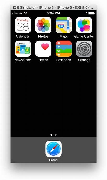 Simulator Mac Iphone Ios Apple Sim Safari