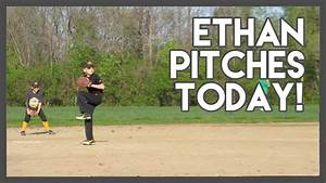Daily Vlog 82: Ethan pitched in practice today! - YouTube