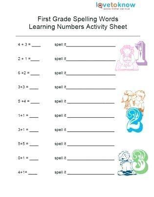 math worksheets  st grade  printable schematic
