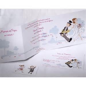 texte faire part mariage humoristique faire part mariage humoristique mariés enfants faire part select duo 49566 mesfairepart