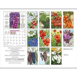 2017 Old Farmer's Almanac Gardening Wall Calendar MADE IN USA