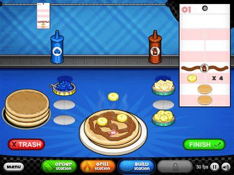 jeux de cuisine papa louie pancakeria black and gold cool math papas donuteria