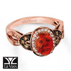 strawberry gold engagement rings jared le vian opal ring 1 4 ct tw diamonds 14k strawberry gold