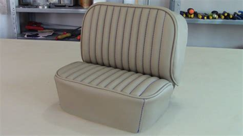 Upholstery Basics by Patterning A Forward Lateral Panel For Car Seats