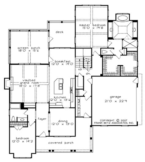 Frank Betz Summerlake Floor Plan by Bucknell Place House Floor Plan Frank Betz Associates