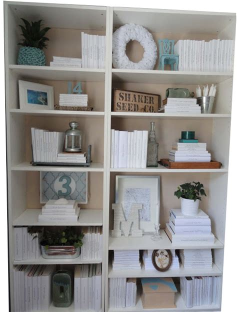 white books for decoration how to style a bookcase decorating and style home