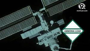 Small ammonia leak outside space station - NASA