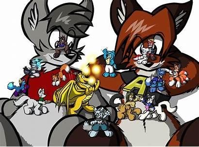 Giant Foxtaur Virmir Party Version Hi Res