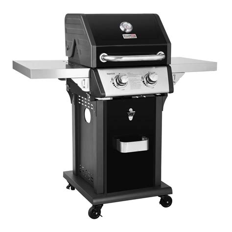grill side table outdoor royal gourmet deluxe 2 burner patio propane gas grill in