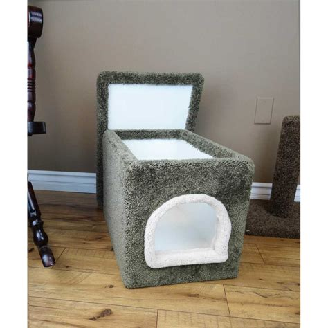 cats choice small litter box enclosure