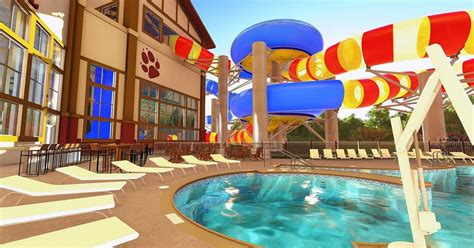 waterslides     great wolf lodge