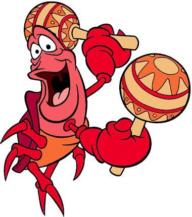 Sebastian Crab Clip Art