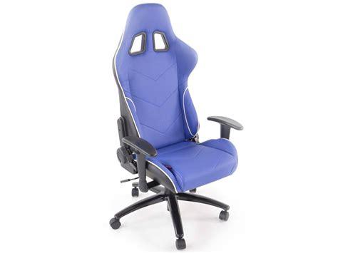Fk Automotive Racecar 13 Blue Racing Office Chair