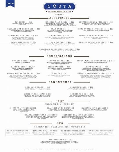 Murrells Inlet Kitchen Restaurants Sc Menu Costa
