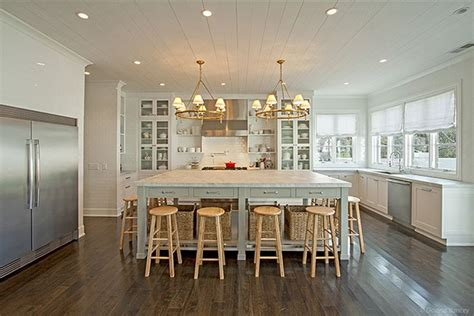 visual comfort floor ls classic kitchen american oak floors white painted