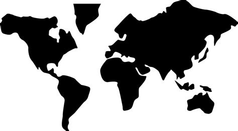 Ready to be used in web design, mobile apps and presentations. World Map Svg Png Icon Free Download (#35715 ...