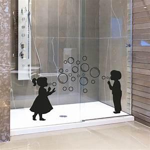 stickers muraux pour salle de bain sticker mural fille With carrelage adhesif salle de bain avec lit 140 a led