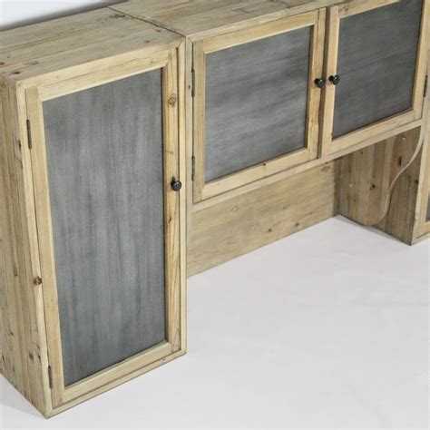 meuble haut cuisine 4 portes etagères made in meubles