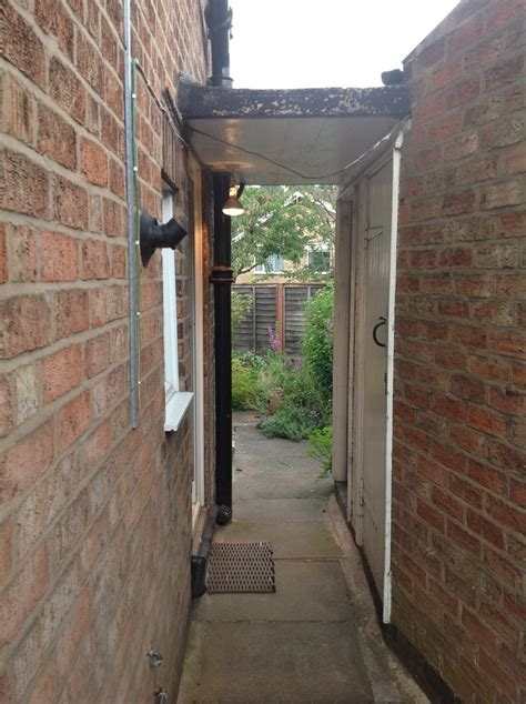 convert outhouse wc  coalshed  utility room
