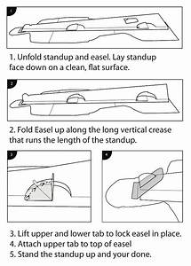 Cardboard Cutout Assembly Instructions