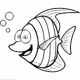 Tuna Coloring Fish Pages Getcolorings Printable sketch template