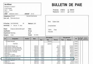 Exemple Bulletin De Paie Avec Indemnité De Licenciement : comment faire une fiche de paie ~ Maxctalentgroup.com Avis de Voitures