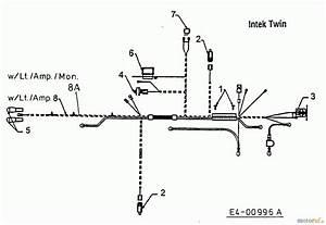 Mtd Lawn Tractors H 145 13aa698f678  2000  Wiring Diagram Intek Twin Spareparts
