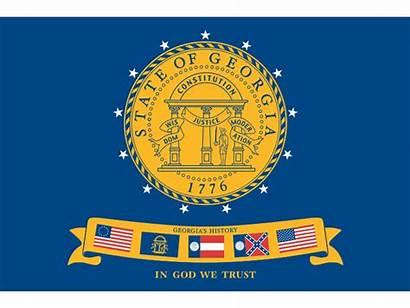Georgia State Flags Flag 2001