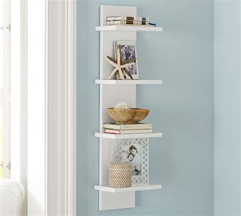 pottery barn decorative wall shelves tiered wall shelf pottery barn