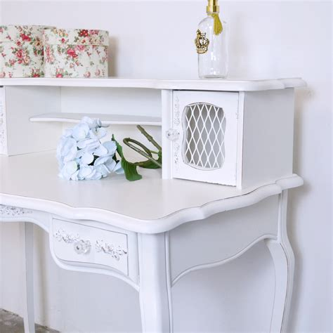 Shabby Cottage Chic French Vintage Style Mesh Desk With