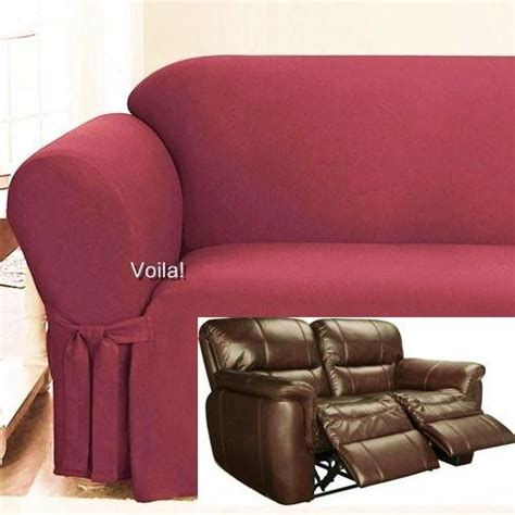 Dual Reclining Loveseat Slipcover by 17 Best Images About Slipcover 4 Recliner On