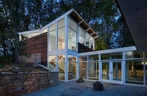 Mid, Century, Modern, House