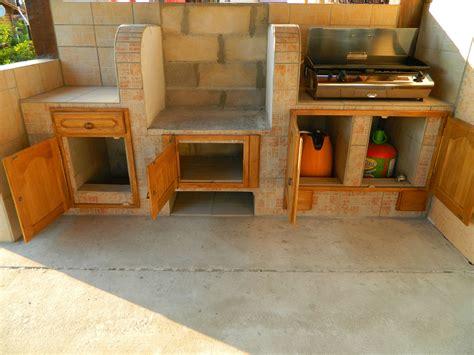 cuisine d ete en beton cellulaire cuisine d 39 été el matos constructions et passions