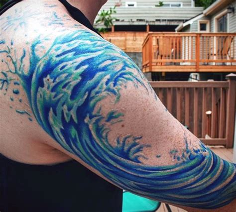 wave tattoos designs ideas  meaning tattoos