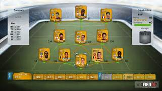FIFA 14 Ultimate Team ...