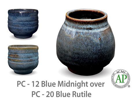 amaco glaze amaco potter s choice pc 12 blue midnight glaze