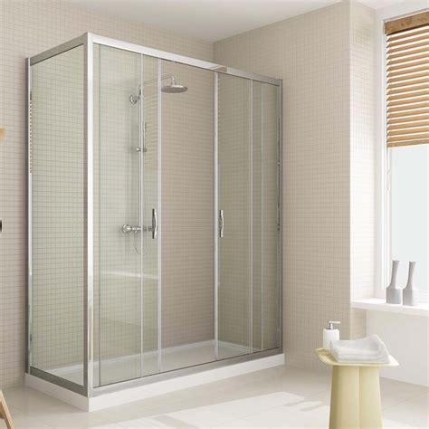 box doccia scorrevole box doccia anta fissa doppia porta scorrevole altezza 185