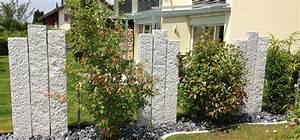 Sichtschutz Mauer Naturstein : sichtschutz naturstein kollektion ideen garten design ~ Michelbontemps.com Haus und Dekorationen