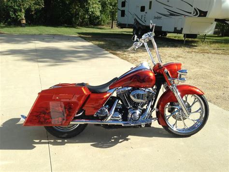 harley glide custom raked 26inch wheel for sale on 2040 motos
