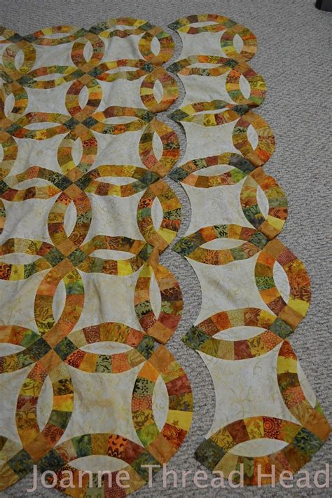 wedding ring quilt tool thread my wedding ring quilt using