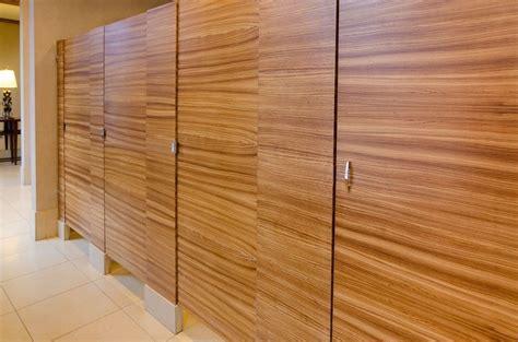 Ironwood Manufacturing Wood Veneer Toilet Partition
