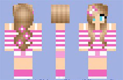 girl minecraft skins images summer girl skin