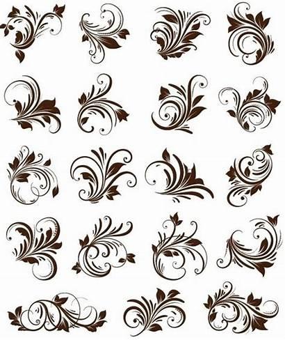 Ornament Vector Floral Graphics Element Ornaments Elements