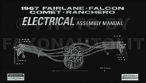 1967 Repair Shop Manual Mustang Fairlane Ranchero Falcon