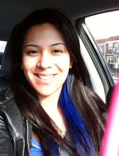 I Want To Dye My Hair Blue Like This Peekaboo Underneath