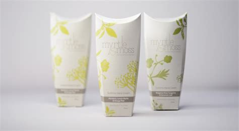 myrtle moss skincare  packaging   world