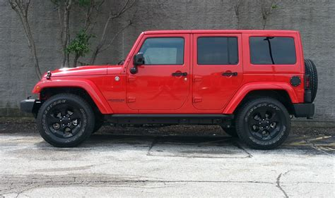 test drive  jeep wrangler unlimited altitude edition